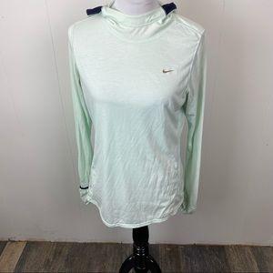 Nike Drifit lightweight hoodie size Large